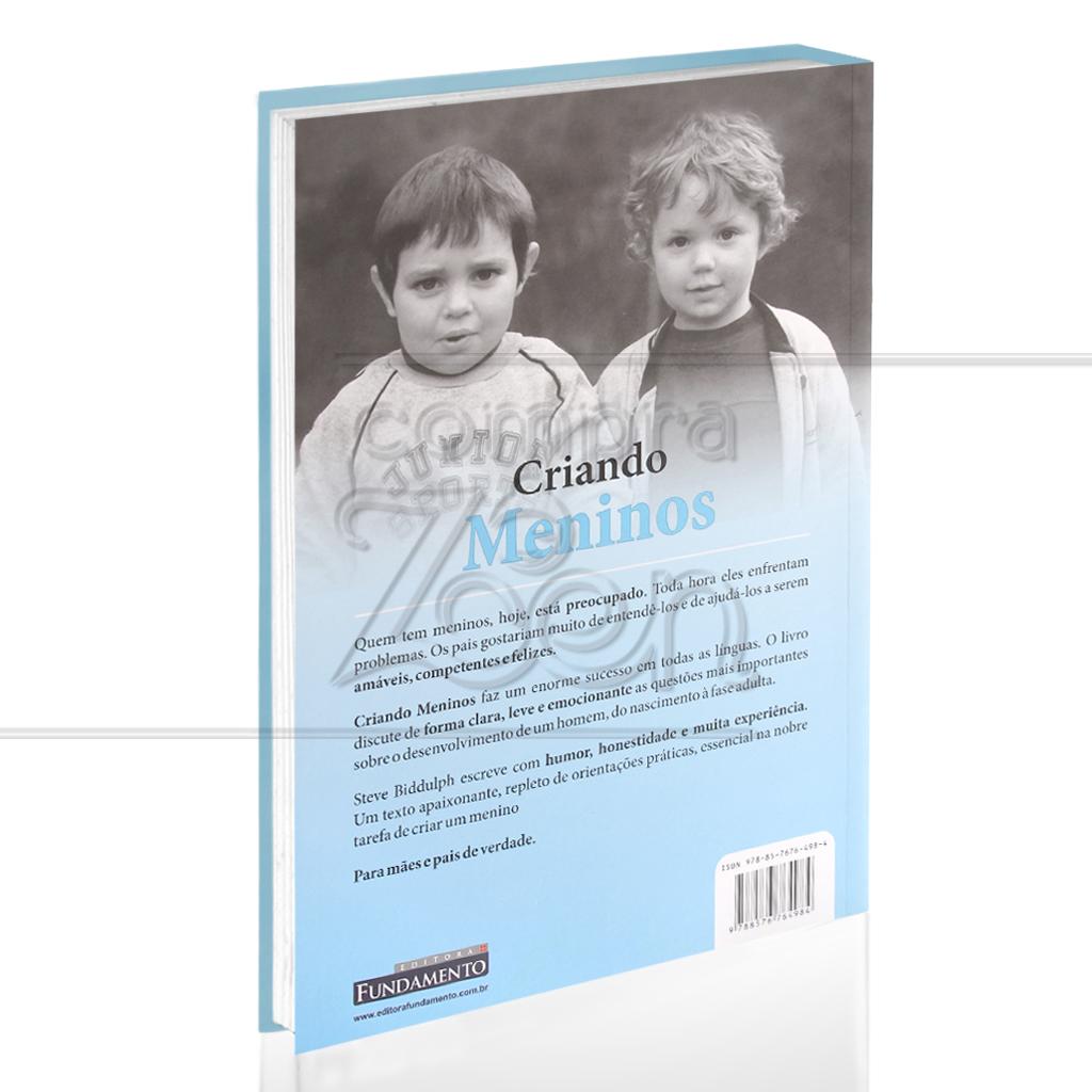 CRIANDO MENINOS|STEVE BIDDULPH - FUNDAMENTO - CompraZen