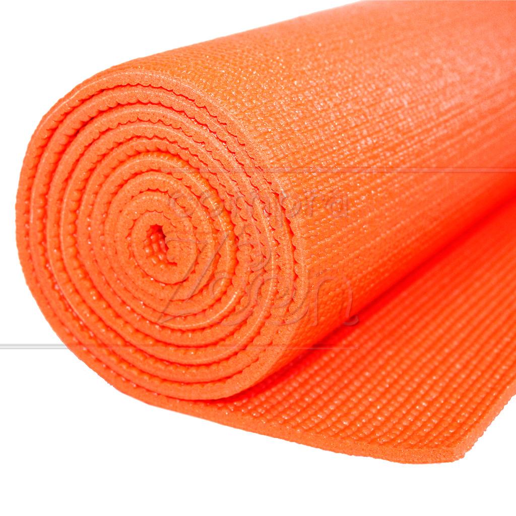 tapete p yoga em pvc 5 mm laranja 1 60 m kapazi comprazen. Black Bedroom Furniture Sets. Home Design Ideas