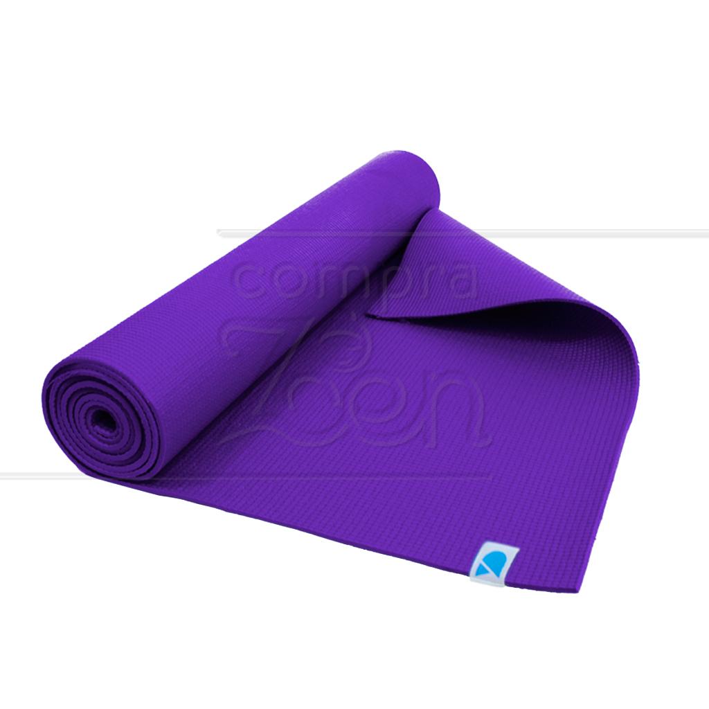 yoga mat em pvc vida simples 3 mm roxo 1 7 m ekomat. Black Bedroom Furniture Sets. Home Design Ideas
