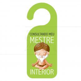 AVISO DE PORTA MESTRE INTERIOR EM PVC 20 CM|PROC. NACIONAL