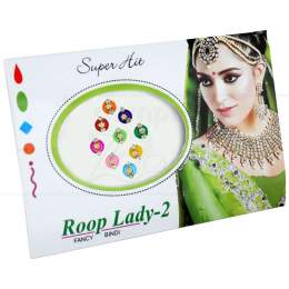 BINDI ROOP LADY-2 MOD. 5 (CARTELA)|PROC. ÍNDIA
