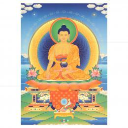 CARD EM PAPEL BUDA SHAKYAMUNI 15 CM|THARPA