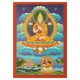 CARD EM PAPEL GURU SUMATI BUDDHA HERUKA 15 CM|THARPA