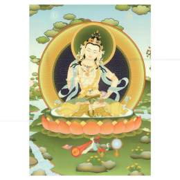 CARD EM PAPEL VAJRASATTVA 15 CM|THARPA