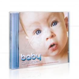 BABY CLASSICS VOL. 1 - MÚSICA CLÁSSICA EM SUAVES ARRANJOS COM SONS DA NATUREZA|CARLOS SLIVSKIN  -  AZUL MUSIC