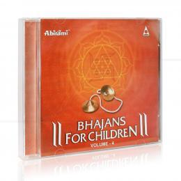 BHAJANS FOR CHILDREN VOL. 4 (IMPORTADO)|CHARUMATHY SHANKAR YER & BAIRAVI  -  ABIRAMI