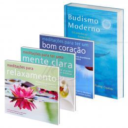 PROMOÇÃO KIT MEDITAÇÃO BUDISTA – LIVRO + CDS|THARPA BRASIL