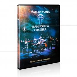 DVD TRILHAS E TEMAS EM CONCERTO|MARCUS VIANA E TRANSFÔNICA ORKESTRA  -  SONHOS E SONS
