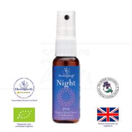 NIGHT (RELAXAMENTO) - COMPOSTO FLORAL DE BACH EM SPRAY|HEALING