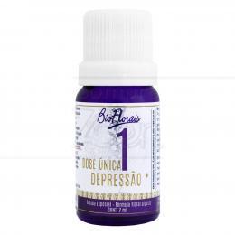 DEPRESSÃO - COMPOSTO FLORAL DOSE ÚNICA 7 ML|BIO FLORAIS
