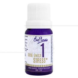 STRESS - COMPOSTO FLORAL DOSE ÚNICA 7 ML|BIO FLORAIS