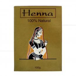 HENNA NATURAL EM PÓ 100 GR|PROC. ÍNDIA