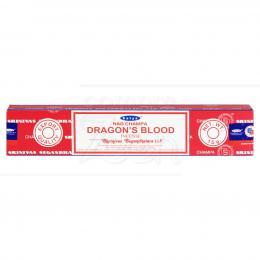 DRAGON'S BLOOD INCENSO MASALA SATYA SAI BABA NAGCHAMPA|SHRINIVAS SUGANDHALAYA - ÍNDIA