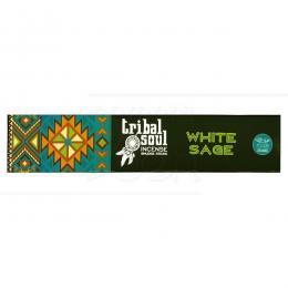 WHITE SAGE (SUPER LUXO) INCENSO MASALA TRIBAL SOUL|HARI DARSHAN SEVASHRAM - ÍNDIA