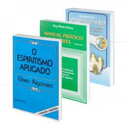 PROMOÇÃO KIT ESPIRITISMO APLICADO - 3 LIVROS|VÁRIOS