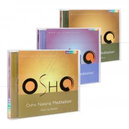 PROMOÇÃO KIT OSHO MEDITAÇÃO ATIVA - 3 CDS|NEW EARTH