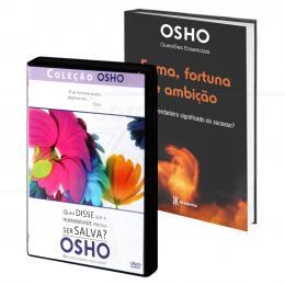 PROMOÇÃO KIT OSHO NOVA VISÃO  - LIVRO + DVD|VÁRIOS