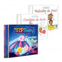 PROMOÇÃO KIT MPBABY ETERNO - 3 CDS|REGINALDO FRAZATTO JR. - MCD