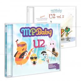 PROMOÇÃO KIT MPBABY U2 - 2 CDS|REGINALDO FRAZATTO JR. - MCD