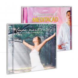 PROMOÇÃO KIT MEDITAÇÃO EM CASA - 2 CDS|VÁRIOS
