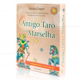 ANTIGO TARÔ DE MARSELHA, O (INCLUI 78 CARTAS)|NICOLAS CONVER  -  PENSAMENTO