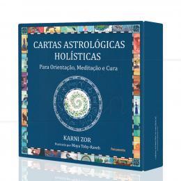 CARTAS ASTROLÓGICAS HOLÍSTICAS - PARA ORIENTAÇÃO, MEDITAÇÃO E CURA (INCLUI 52 CARTAS)|KARNI ZOR - PENSAMENTO