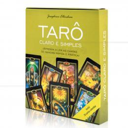 TARÔ CLARO E SIMPLES - APRENDA A LER AS CARTAS! (INCLUI 78 CARTAS E PÔSTER)|JOSEPHINE ELLERSHAW  -  PENSAMENTO