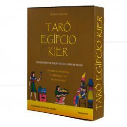 TARÔ EGÍPCIO KIER - CONHECIMENTO INICIÁTICO DO LIVRO DE THOTH (INCLUI 78 CARTAS)|BIBIANA ROVIRA  -  PENSAMENTO