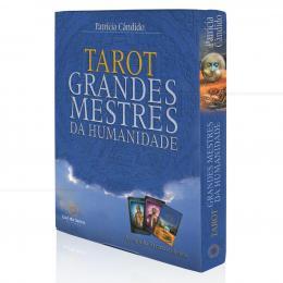 TAROT GRANDES MESTRES DA HUMANIDADE (INCLUI 50 CARTAS)|PATRÍCIA CÂNDIDO - LUZ DA SERRA