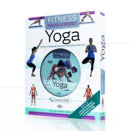 YOGA - FITNESS PASSO A PASSO (INCLUI DVD)|GOLDIE KARPEL OREN  -  DCL