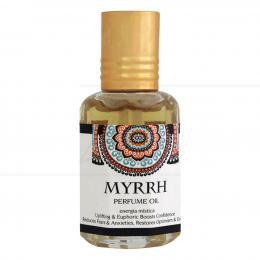 PERFUME EM ÓLEO MYRRH 10 ML (ENERGIA MÍSTICA)|GOLOKA - ÍNDIA