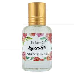 PERFUME NATURAL EM ÓLEO LAVANDER 10 ML|SECRETS OF INDIA