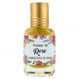 PERFUME NATURAL EM ÓLEO ROSE 10 ML|SECRETS OF INDIA