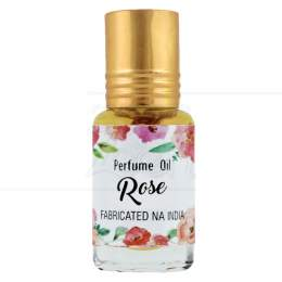 PERFUME NATURAL EM ÓLEO ROSE 5 ML|SECRETS OF INDIA