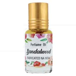 PERFUME NATURAL EM ÓLEO SANDALWOOD 5 ML|SECRETS OF INDIA