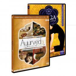 PROMOÇÃO KIT AYURVEDA & YOGA - 2 DVDS|TRÍADA