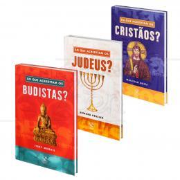 PROMOÇÃO KIT CRENÇAS RELIGIOSAS - 3 LIVROS|VÁRIOS