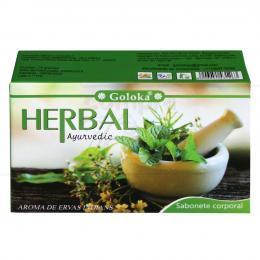 SABONETE 100% NATURAL GOLOKA HERBAL AYURVEDIC (AROMA DAS ERVAS INDIANAS)|GOLOKA  - ÍNDIA