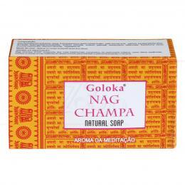 SABONETE 100% NATURAL GOLOKA NAG CHAMPA (AROMA DA MEDITAÇÃO)|GOLOKA - ÍNDIA