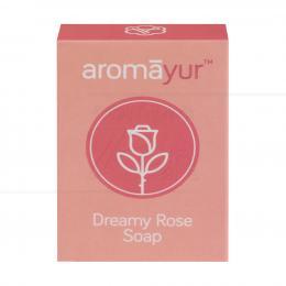 SABONETE 100% VEGETAL AYURVÉDICO DREAMY ROSE SOAP 75 G|HEM