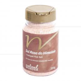 SAIS DE BANHO SAL DO HIMALAIA GRANULAÇÃO FINA 200 G|NATURAL WONDER