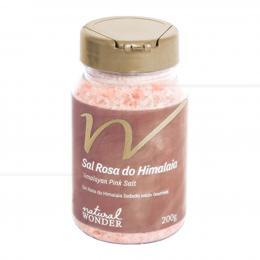 SAIS DE BANHO SAL DO HIMALAIA GRANULAÇÃO MÉDIA 200 G|NATURAL WONDER